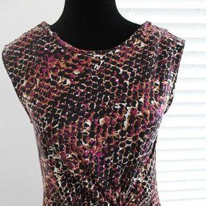 Apt 9 Sleeveless dress with knot waist- Medium